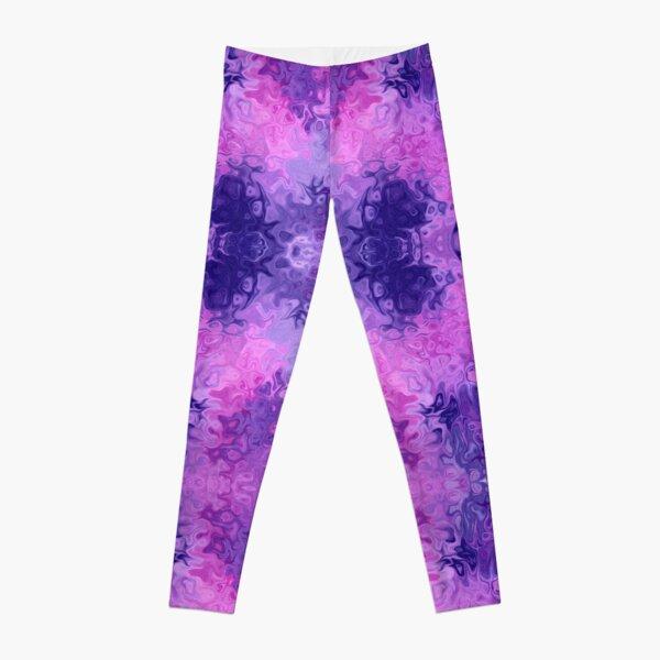 Galactic Cosmos Purple Galaxy Leggings
