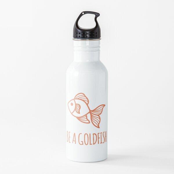 Ted Lasso sé un pez dorado Botella de agua