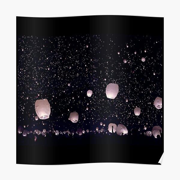 wish lantern  Poster