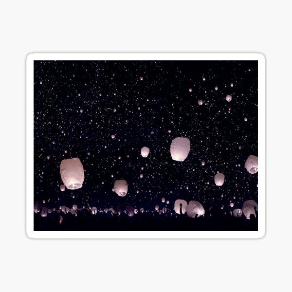 wish lantern  Sticker