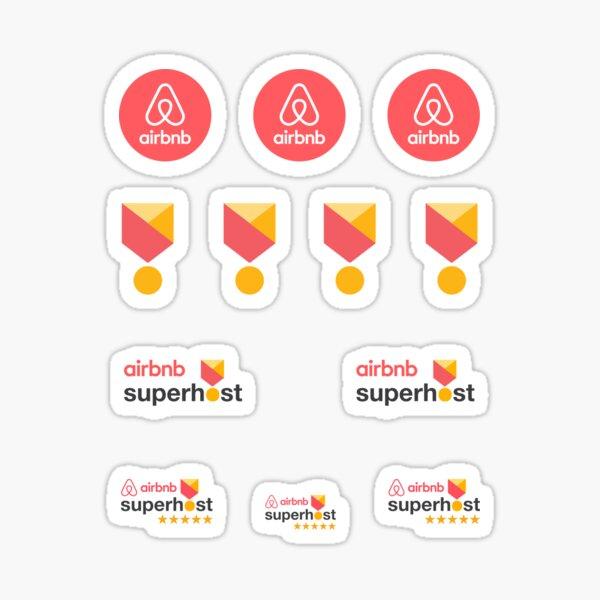 Airbnb Superhost Stickers pack Sticker
