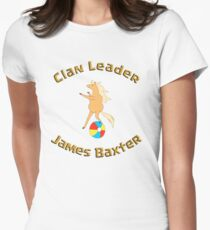 Clan Leader - James Baxter Women's Fitted T-Shirt