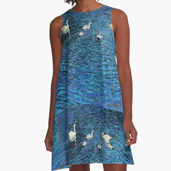 science dress bluegreen Cotton Neurons tennis dress
