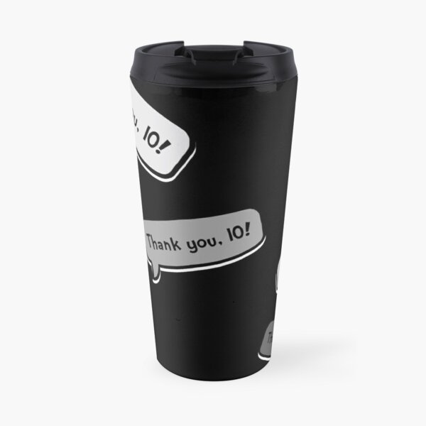 Thank You, 10 Theatre Cast Stage Manager Response Travel Mug