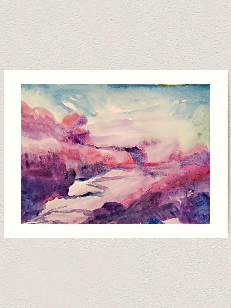 Alternate view of Pink Clouds Art Print