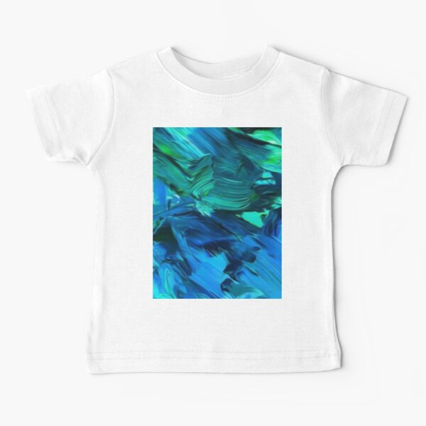 PAINT TEXTURE PATTERN  Baby T-Shirt