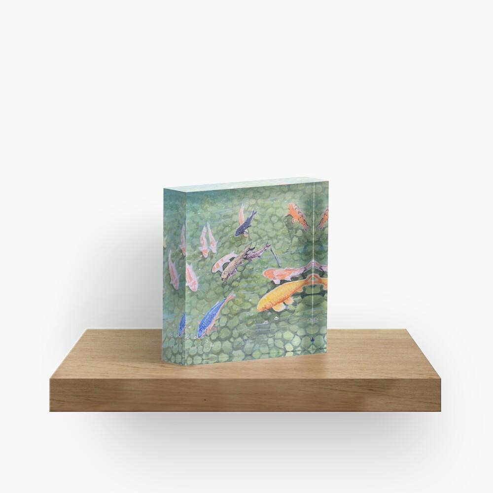 Pond Acrylic Block