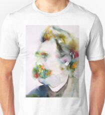 FRIEDRICH NIETZSCHE watercolor portrait.8 T-Shirt