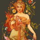 Mucha Floral by lollyjolie