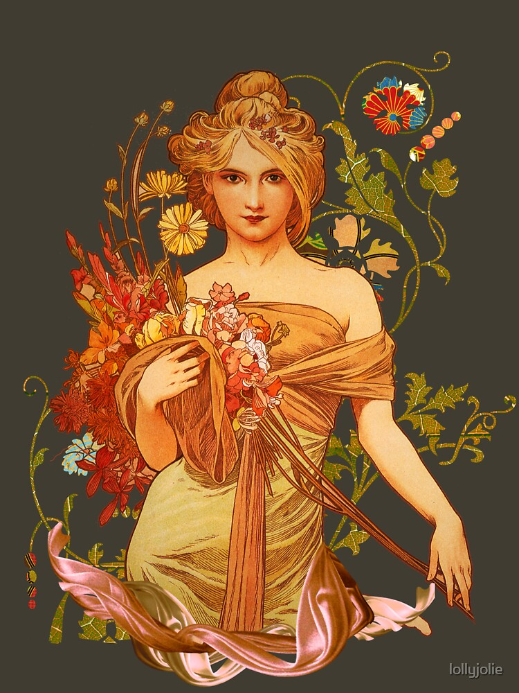 Mucha Floral | Women's T-Shirt