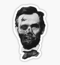 Undead Lincoln Sticker