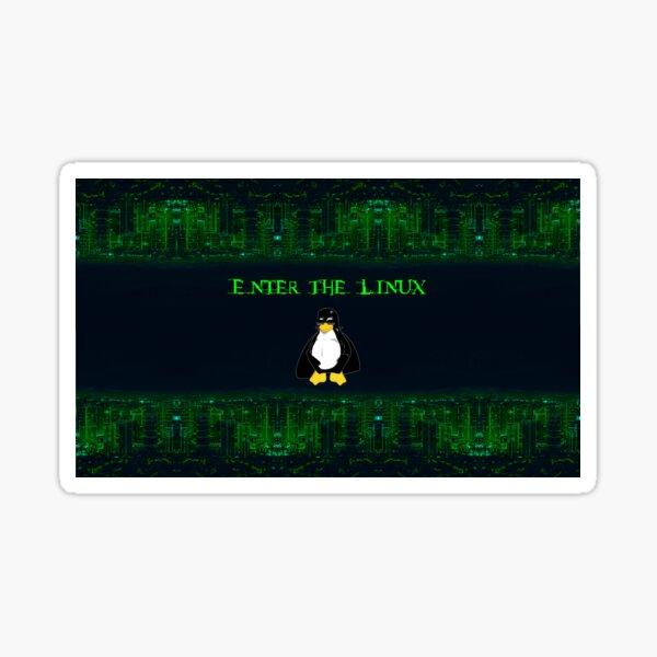Enter the Linux Sticker