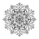 Thrive - Monochrome Mandala by micklyn