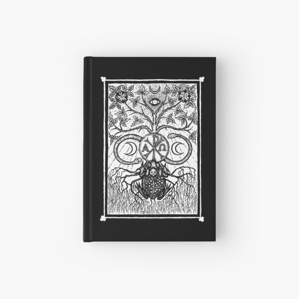 The Black Toad (frontispiece) by Gemma Gary Hardcover Journal