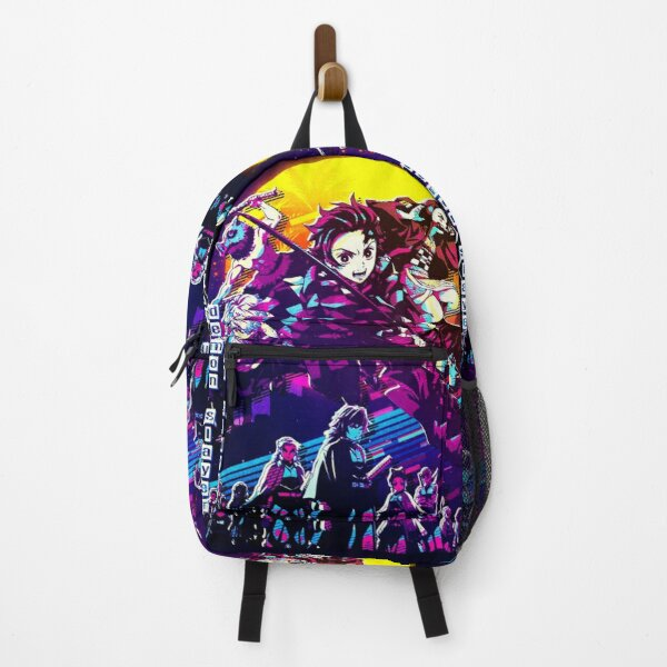 Tanjiro and Friends Demon Slayer  Backpack