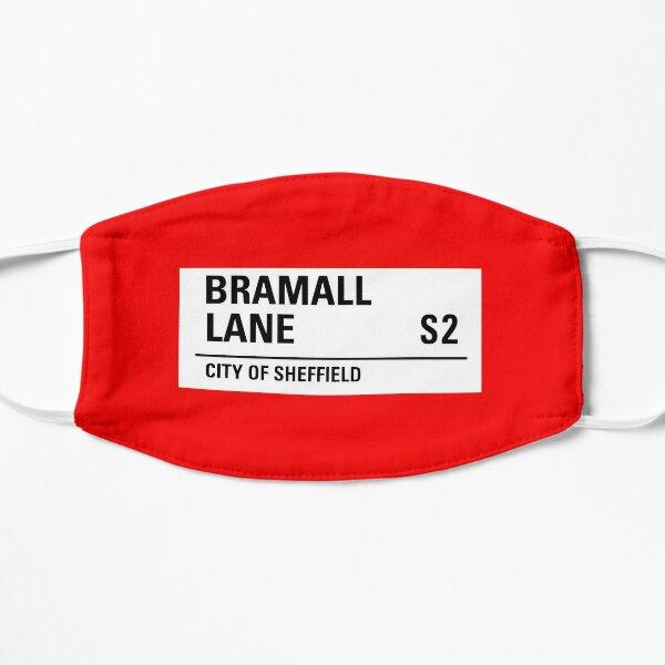 Sheffield , Bramall lane road sign design Flat Mask