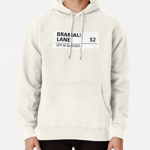 Sheffield , Bramall lane road sign design Pullover Hoodie