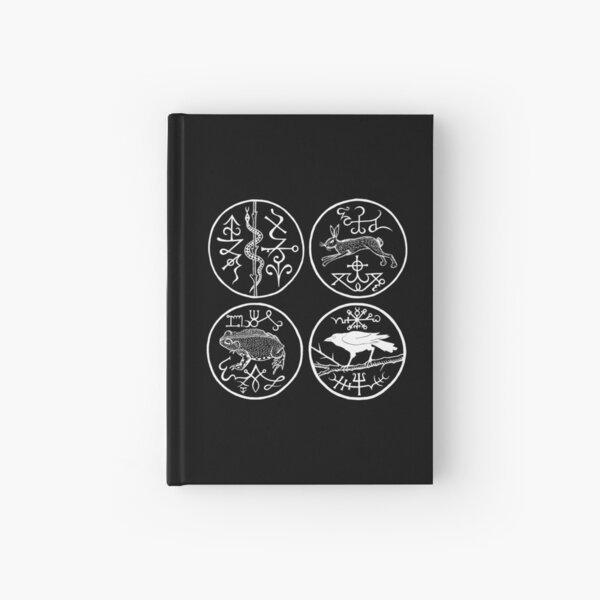 The Directional Familiars by Gemma Gary Hardcover Journal