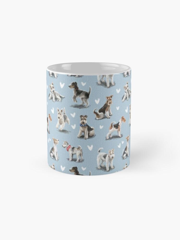 Alternate view of The Fox Terrier Mug