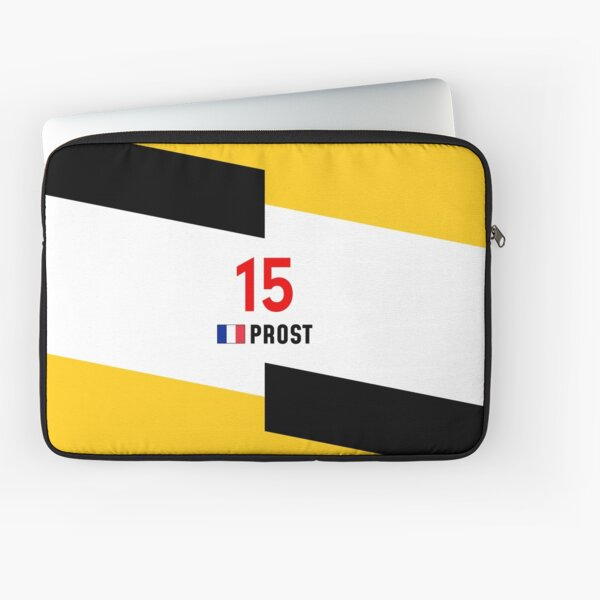 F1 Legends - Alain Prost [Renault] Laptop Sleeve