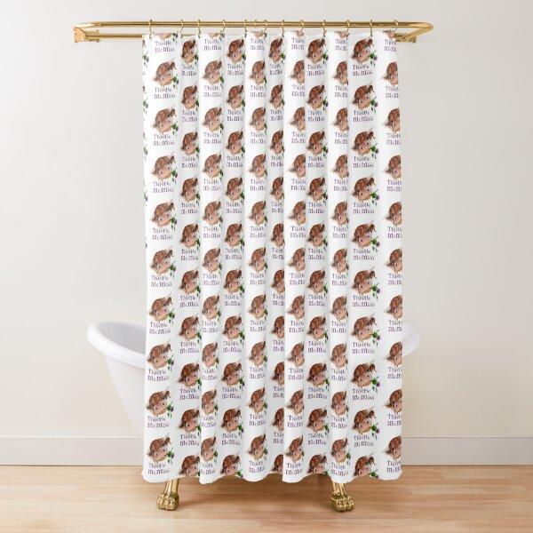 Thistle MacKenzie McMoo Shower Curtain