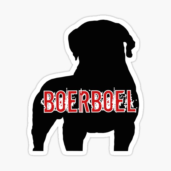 South African Boerboel Sticker