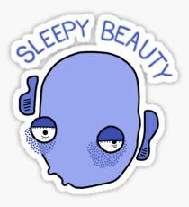 Sleepy Beauty Sticker
