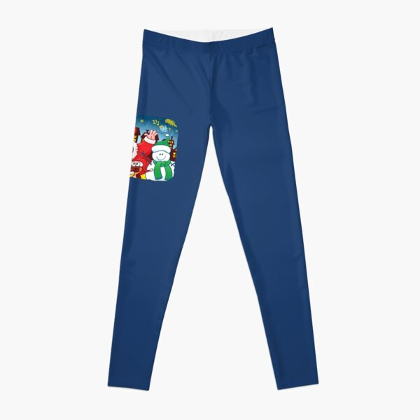 Santa and his team are ready for the great Christmas season! Leggings