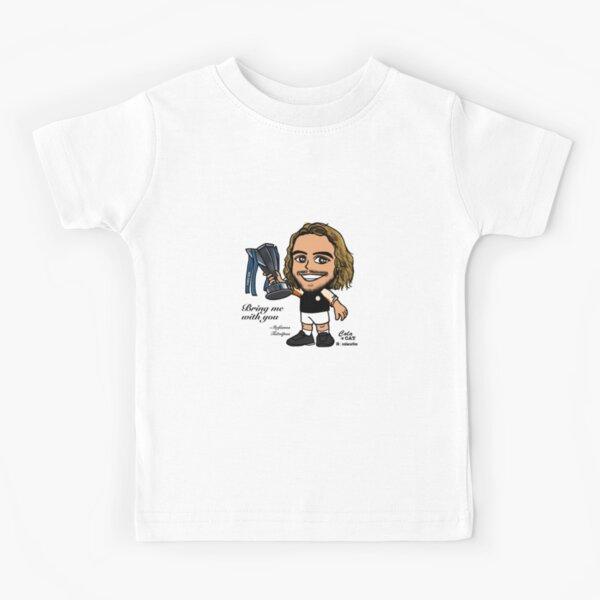 Stefanos Tsitsipas  Kids T-Shirt