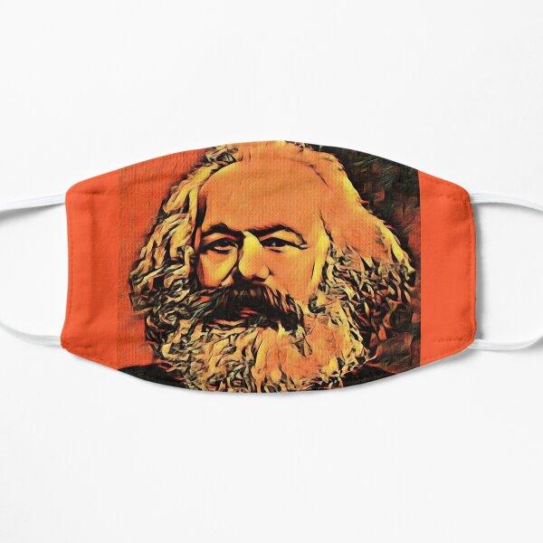 Karl Marx Flat Mask