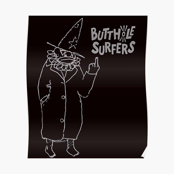 Butthole Surfers Butthole Surfers Punk Noise Rock Poster