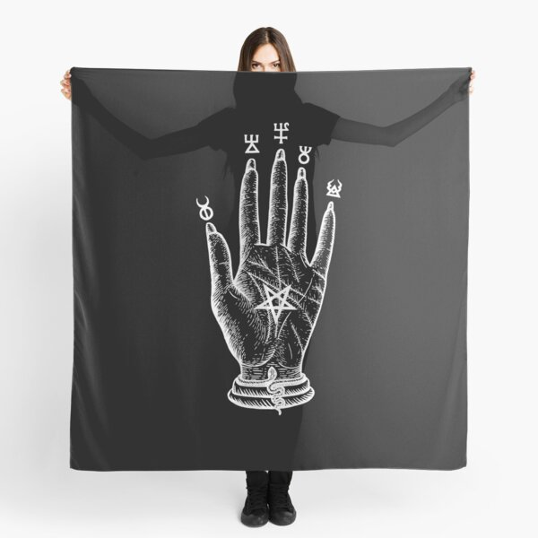 Hand of The Wise by Gemma Gary Scarf