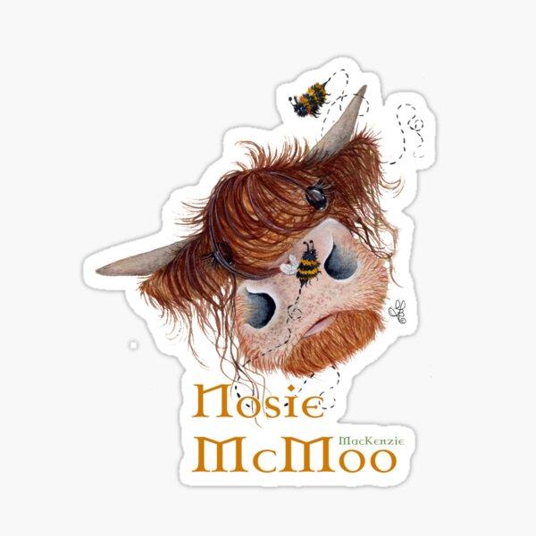 Nosie MacKenzie McMoo Sticker