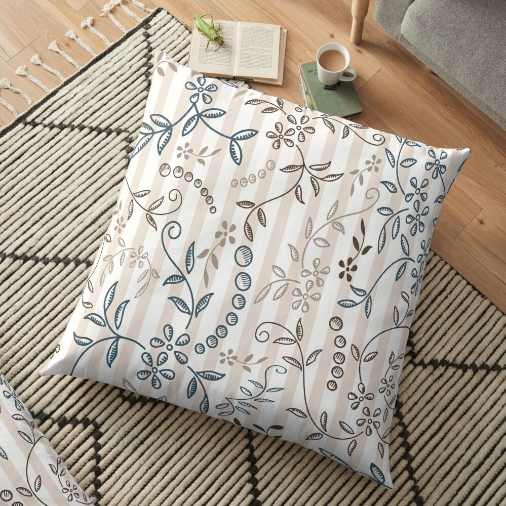 Morning Dew Floor Pillow