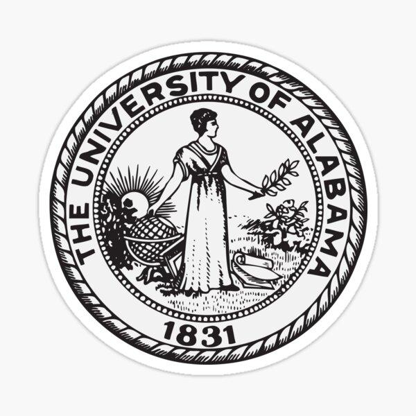 University of Alabama System Sticker