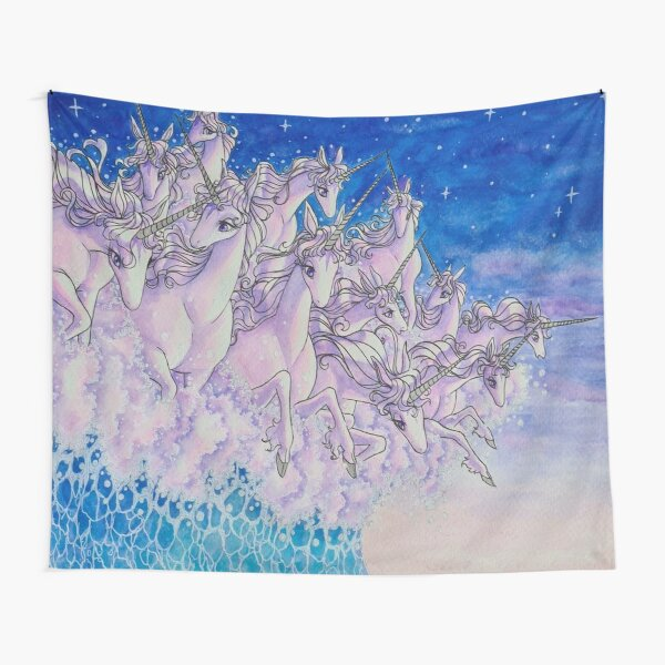 Unicorns in the sea part two Tapestry