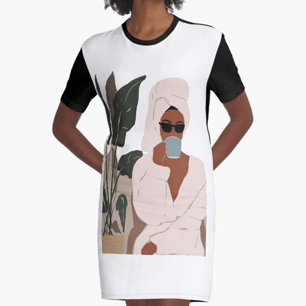 Ducha y cafe Vestido camiseta