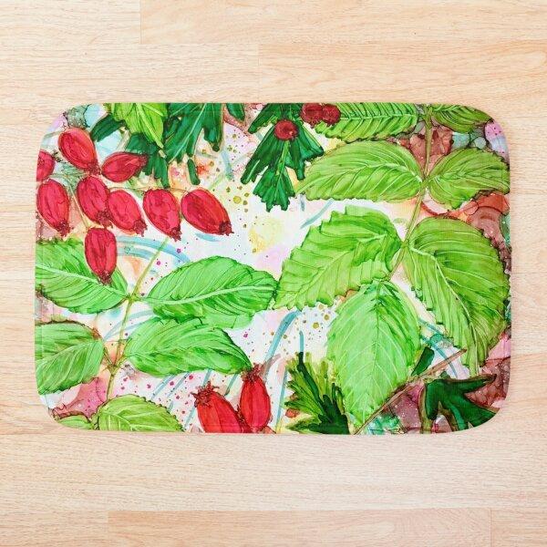 Autumn Berries, Hips & Haws Bath Mat