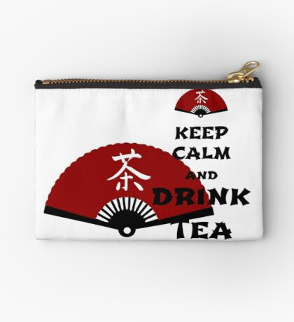 keep calm and drink tea - asia edition Studio Pouch