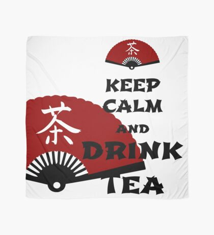 keep calm and drink tea - asia edition Tuch
