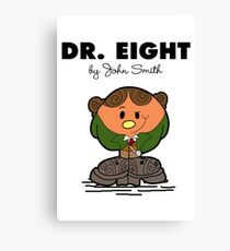 Dr Eight Canvas Print