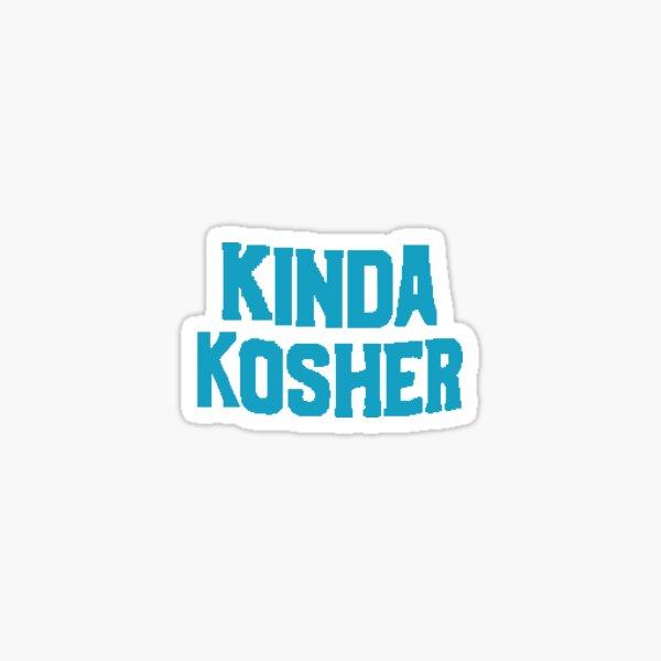 Kinda Kosher Sticker