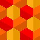 Hex pattern 1 by Smallbrainfield