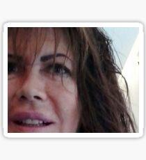 selfie dal coiffeur - per mia cugina  Anna -anaisanais Sticker