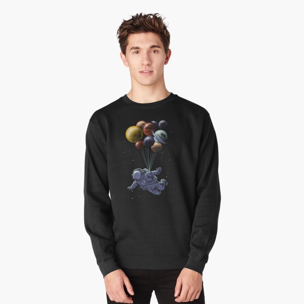 Space Travel Pullover Sweatshirt