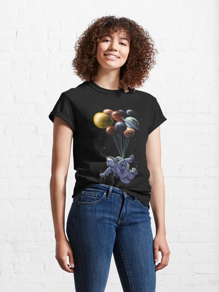 Alternate view of Space Travel Classic T-Shirt