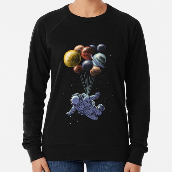 Space Travel Lightweight Sweatshirt