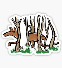 the elusive thylacine Sticker