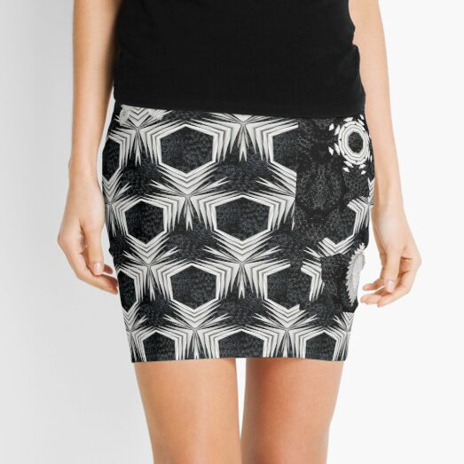 """Bird dreaming in the wind"" Mini Skirt"