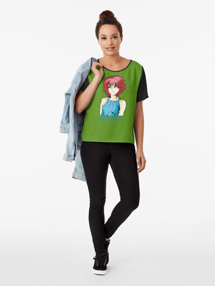 Alternative Ansicht von Girls Just Want To Have Fun - T-Shirts für mehr Girl Power und Lust for Life. Zeig deine Energie in jeder Sekunde deines Lebens! Chiffon Top
